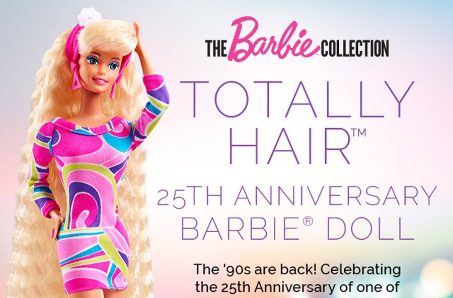 Barbie Web Header Banners
