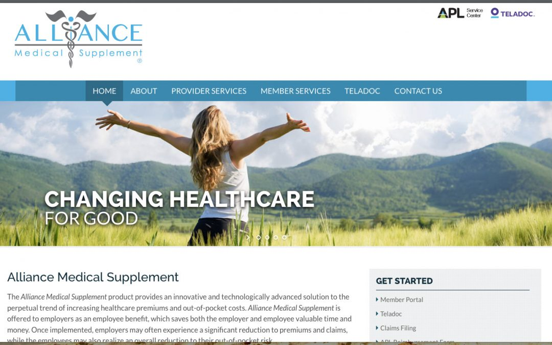 Alliance Website Design/Development