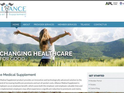 Alliance Website Design/Development
