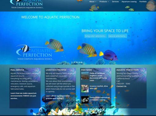 Redesign/Rebuild Aquatic Perfection