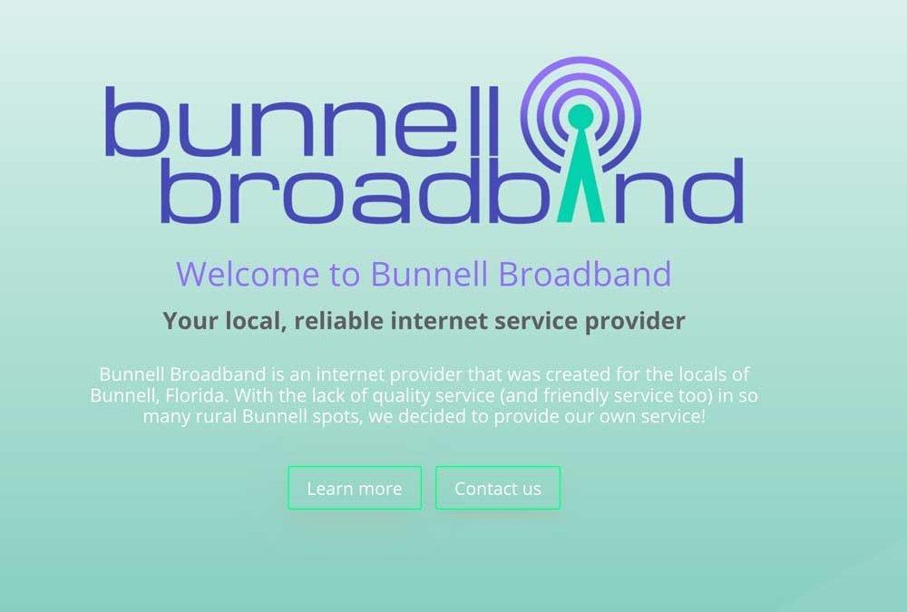Bunnell Broadband Logo Design