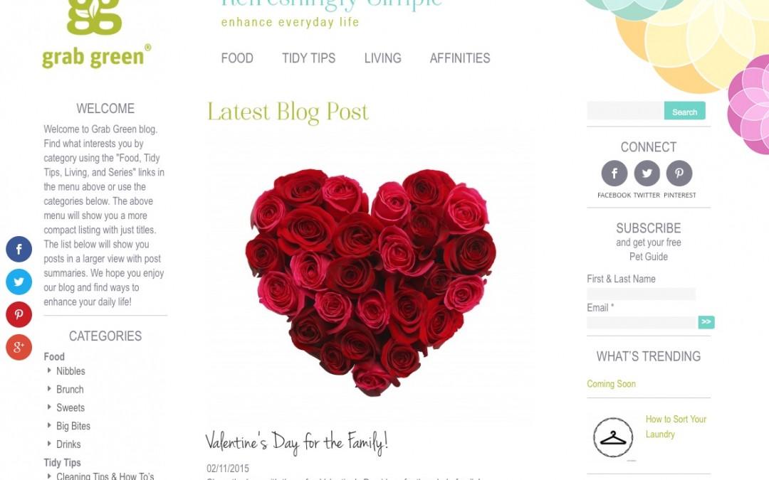 Grab Green Blog